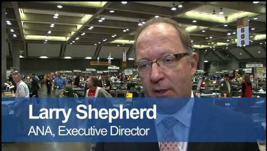 Larry Shepherd, American Numismatic Association (ANA) Executive Director