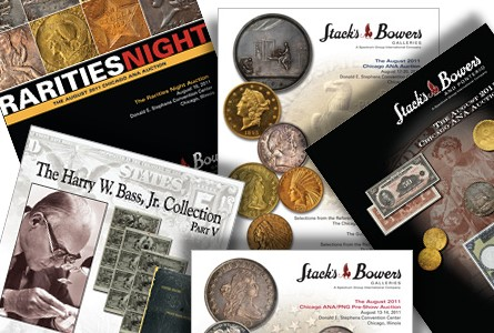 Stack Bowers numismatic auctions