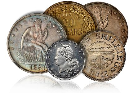 coin auctions, us coins, stacks bowers,rare coins