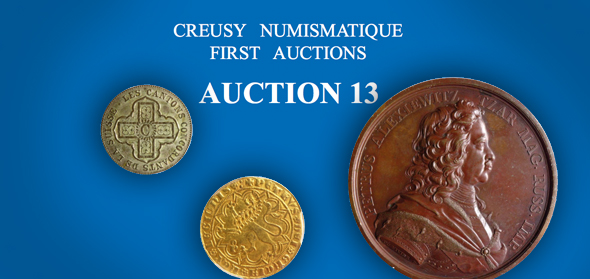 Creusy Numismatique Auction 13 catalog