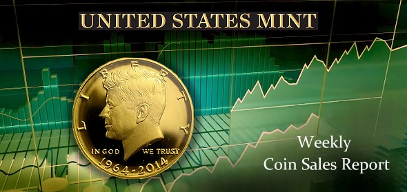 State of the Mint - Weekly Coin Sales Report