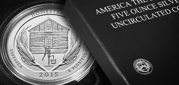 United States 2015 Homestead National Museum America the Beautiful Quarters. Images courtesy US MInt