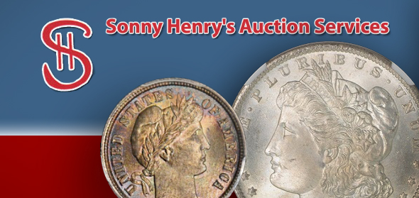Sonny Henry's Auction Service banner