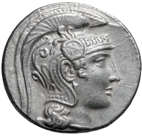 Greece, Athenian New Style tetradrachm
