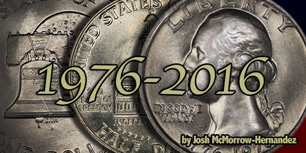 40 Years of Bicentennial Coinage