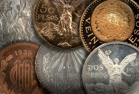 Collecting Mexican coins
