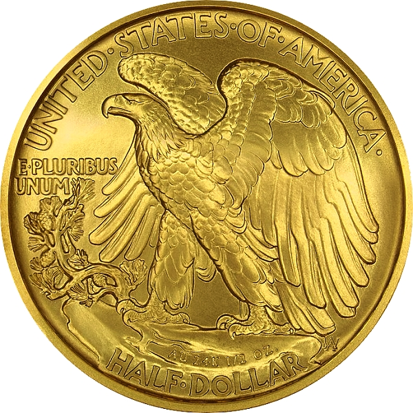 2016 Walking Liberty Centennial Gold Coin