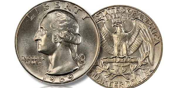 What's up with the key date 1969 Washington Quarter?