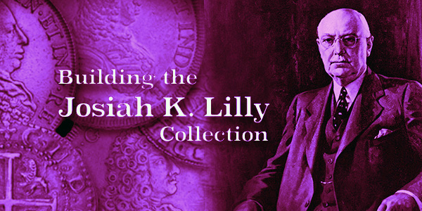 Harvey Stack presents the building of the Josiah K. Lilly Collection