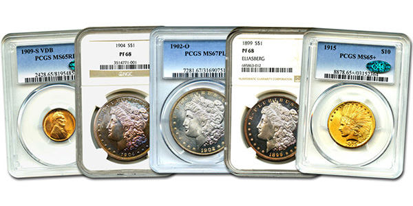 David Lawrence Rare Coins Auction 952