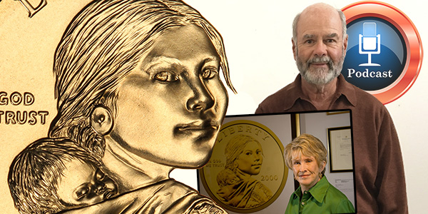 Sacagawea Dollar Podcast with Dan Anthony graphic