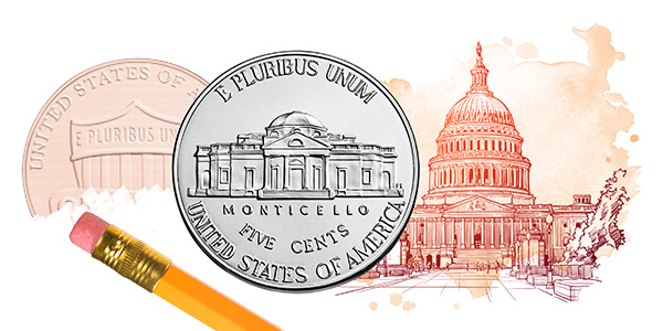 New legislation seeks to change the metal composition of our nation's coinage