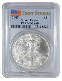 PCGS First Strike 2005 Silver Eagle