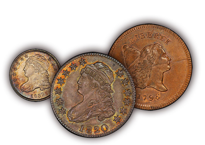 Coins from Eliasberg Collection