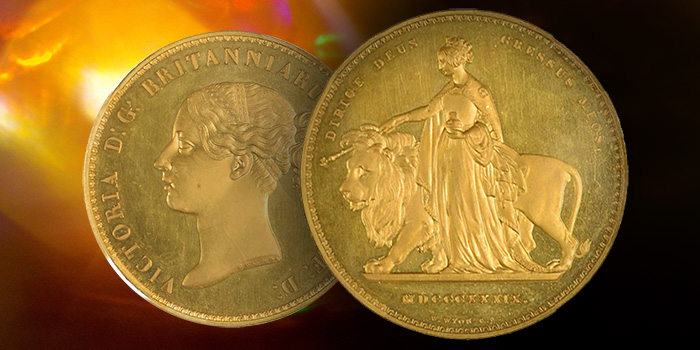 NGC Una and the Lion Proof