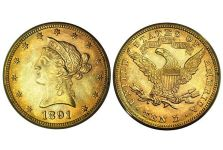 Liberty Head With Motto $10 Gold Eagles