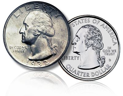 Washington Quarter Dollar