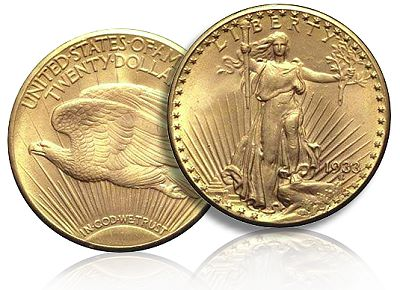 Image 1 Of 4 1933 Gold Double Eagle Replica