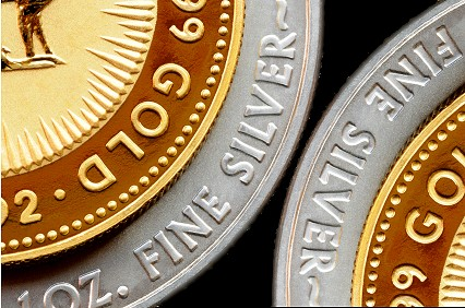 Gold and Silber Bullion Coins