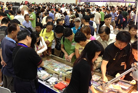 Singapore International Coin Fair Attracts Over 10,000