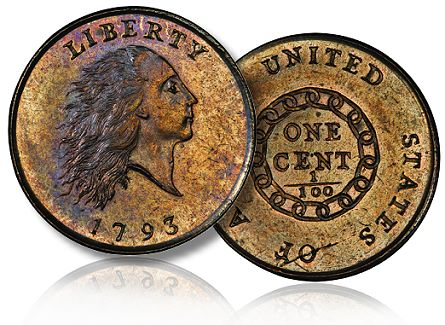 1793 Liberty Chain Cent