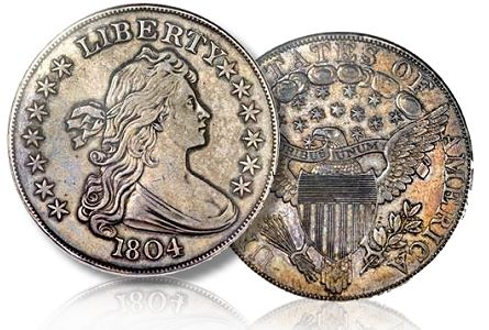 1804 Silver Dollar Sells For 3 88 Million In Pre Ana