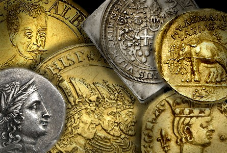 highdenomination gold coins from the holy roman empire