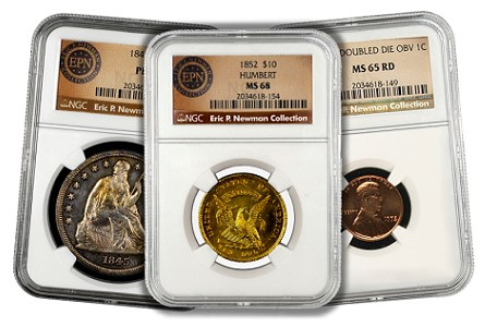 Eric P. Newman Collection - NGC