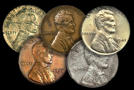 The Geyer Collection of World War II-Era Mint Error Coins