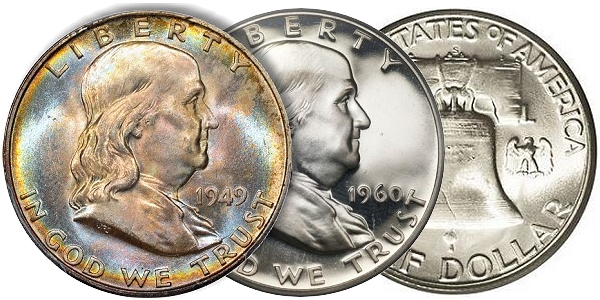 Us Coins Collecting The Short Lived Franklin Half Dollar