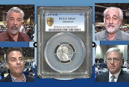 Discovery Coin: 1974-D Aluminum Lincoln Cent on Display at