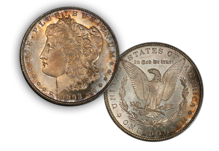 Eliasberg's 1893-S Morgan Dollar