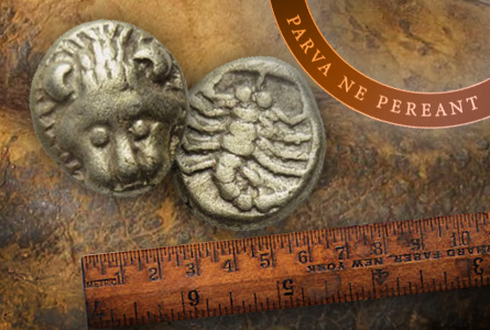 Small Change: The Tiniest Ancient Coins