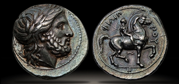 Ancient Greek Coins - phillip_ii