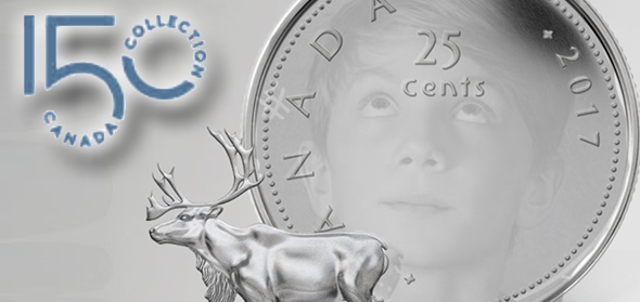Canada celebrates the 150th Anniversary of Canadian Federation with a coin design contest