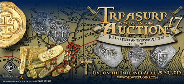 Sedwick Treasure and World Coin Auction 17