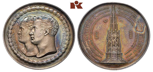 Kunker GmbH: Alexander I / Frederick William III
