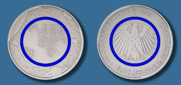 Germany to Issue First Collector Coin with Polymer Ring