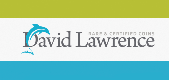 David Lawrence rare coins logo