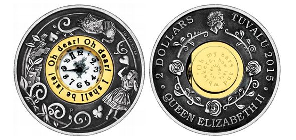 Alice in Wonderland 150th Anniversary - Perth Mint