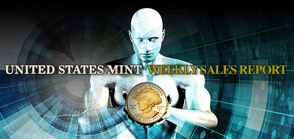 U.S. Mint Coin Sales as of September 27, 2015