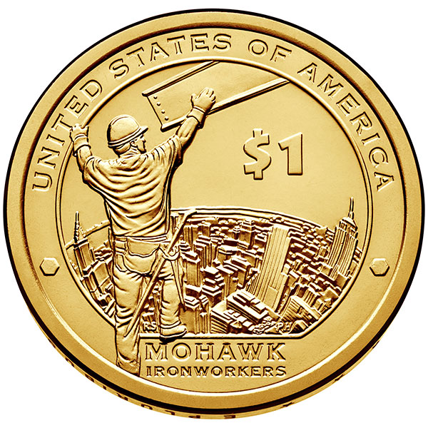 United States 2015 Native American Mohawk Ironworkers 1