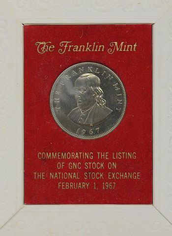 The Franklin Mint - Franklin Silver Round
