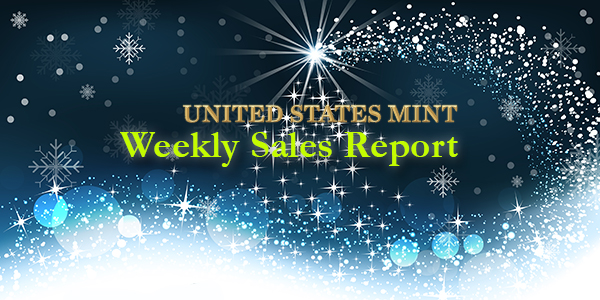 State of the Mint - U.S. Mint Coin Sales as of December 13, 2015