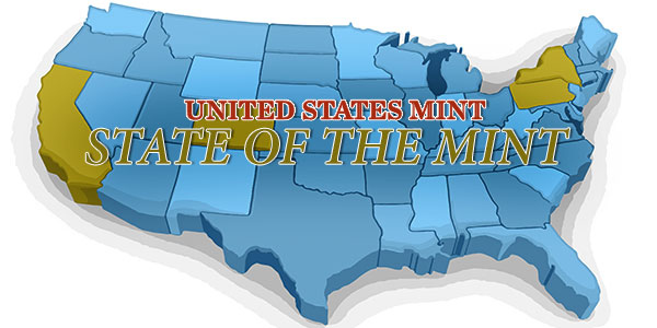 State of the Mint - U.S. Mint Coin Sales as of Feb. 14, 2016