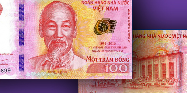World Paper Money Commemorative Vietnam Banknote Funded By Foreign Nations
