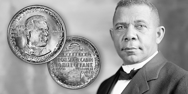 Classic commemorative coin series' most underappreciated entries: the Booker T. Washington and Carver Washington half dollars.