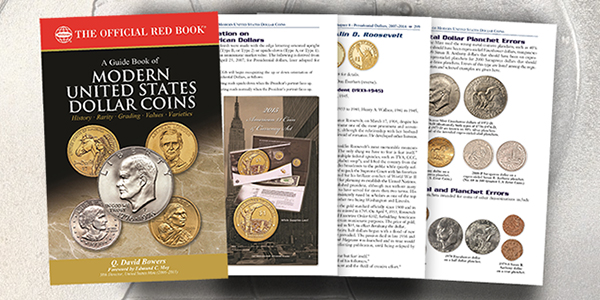Q. David Bowers' Guide Book of Modern U.S. Dollar Coins. Images courtesy Whitman Publishing
