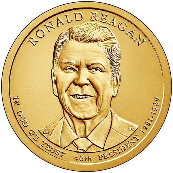 United States 2016 Ronald W. Reagan Presidential $1 Coin