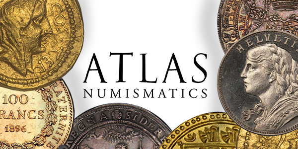 Atlas Numismatics world coin price list